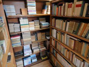 Szkolna biblioteka.
