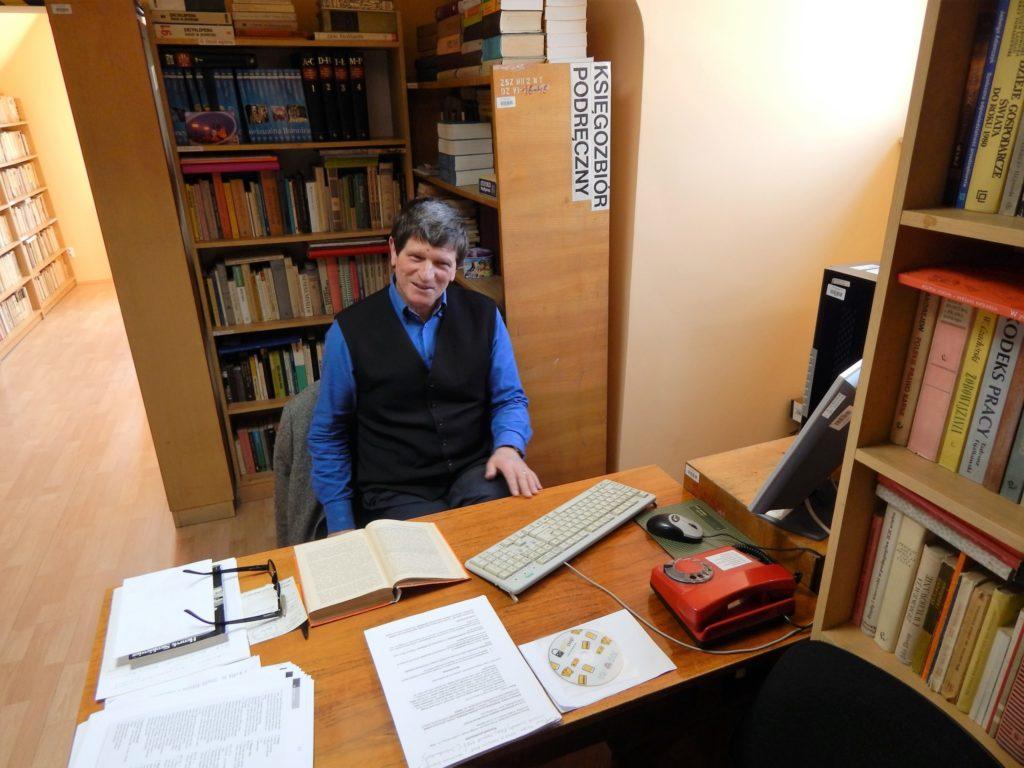 Bibliotekarz mgr Stanisław Sroka
